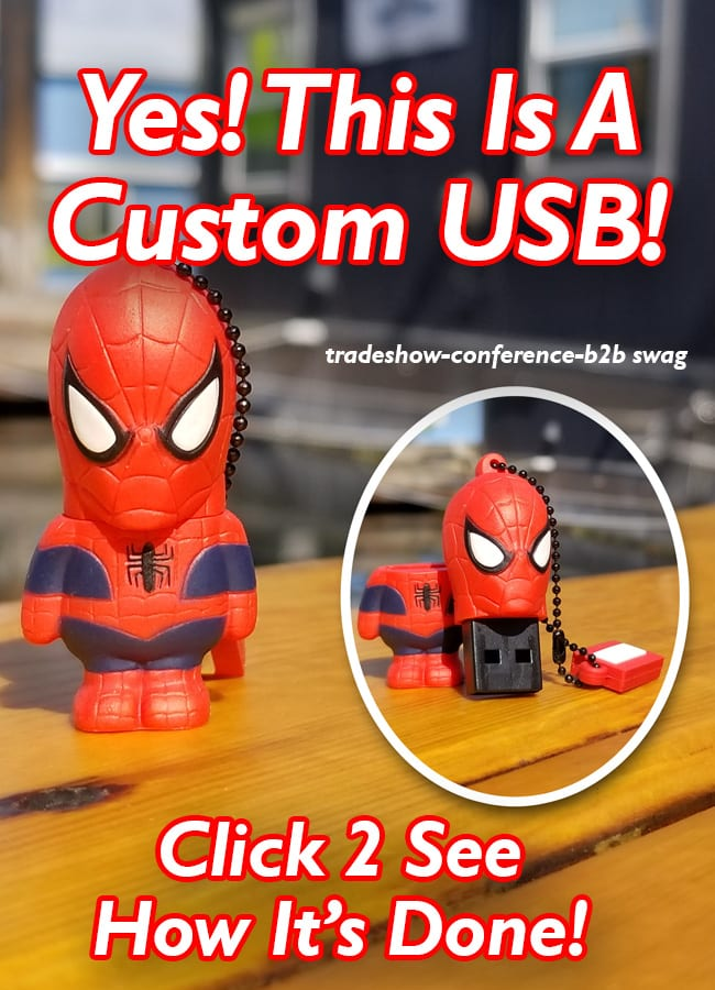 spiderman custom shaped flash drive