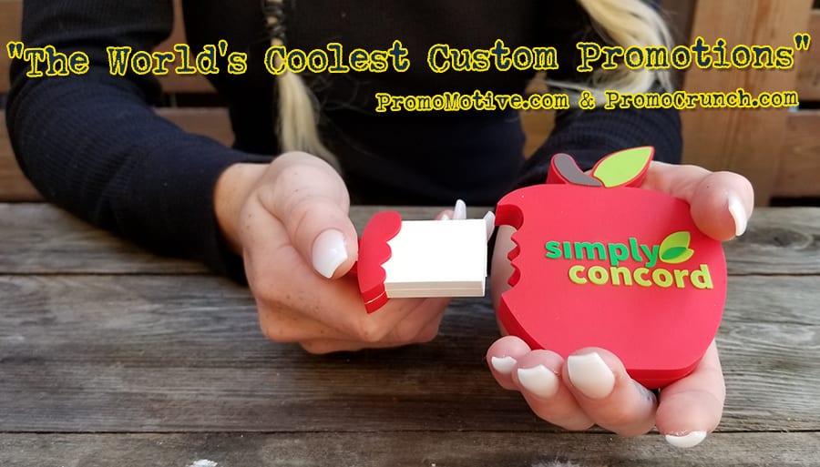 apple  custom shaped usb memory sticks and bespoke flash drives