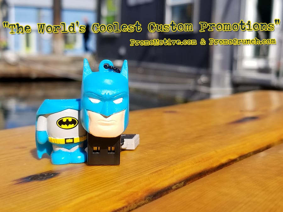 batman custom shaped usb memory sticks and bespoke flash drives