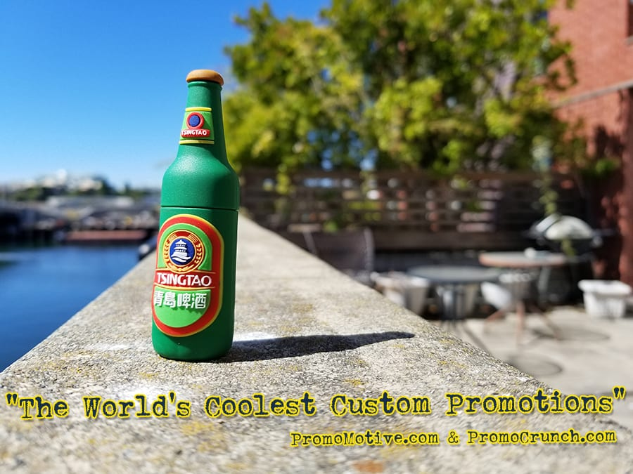 beer bottle custom shaped usb memory sticks and bespoke flash drives