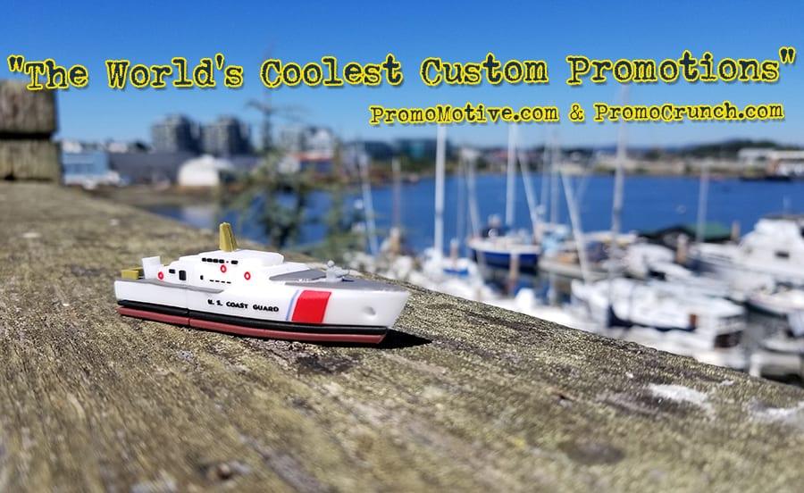 coast guard cutter ship custom shaped usb memory sticks and bespoke flash drives