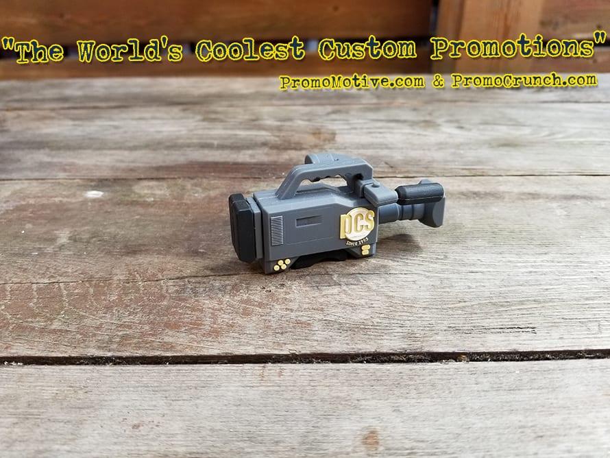video camera custom shaped usb memory sticks and bespoke flash drives