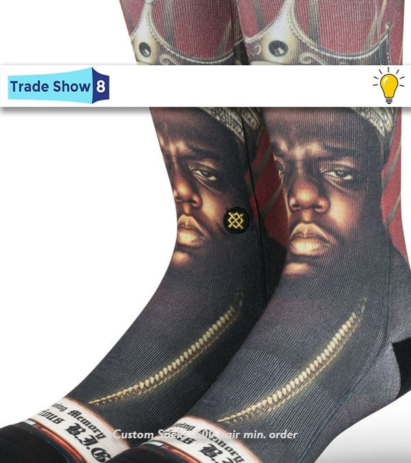 Let's FACE it: Custom Sublimated Socks are a Promo Must this