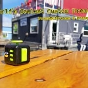 black-green-fidget-cube