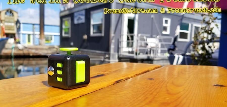 black-green-fidget-cube