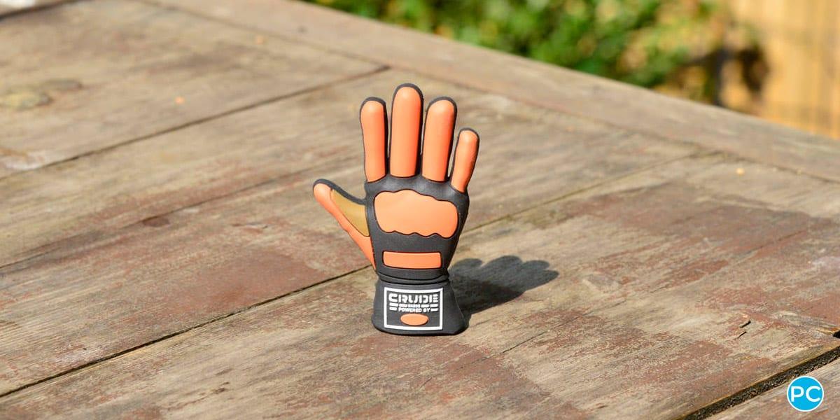 Glove shaped custom shaped 3D USB flahs drive. Turn your logo or idea into a 3D custom flash drive   Wholesale Bulk Cheap  Promo Crunch