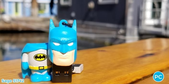 Batman shaped custom 3D USB Flash Drive | Wholesale Promotional Product| Promo Crunch, The World's best custom shaped flash drives.
