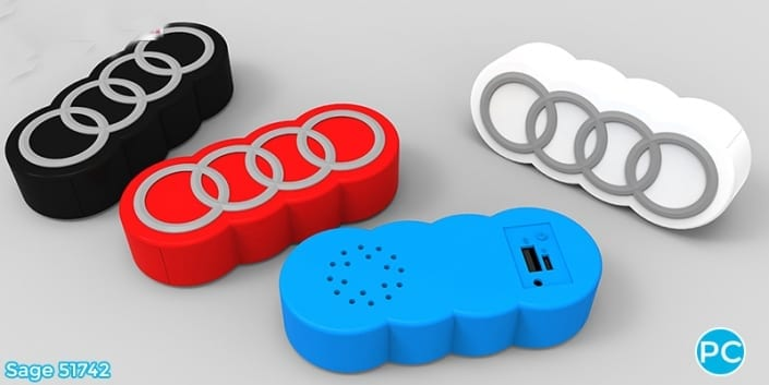 promo crunch, bluetooth, speaker, custom, molded, 3 D, promo, pr;