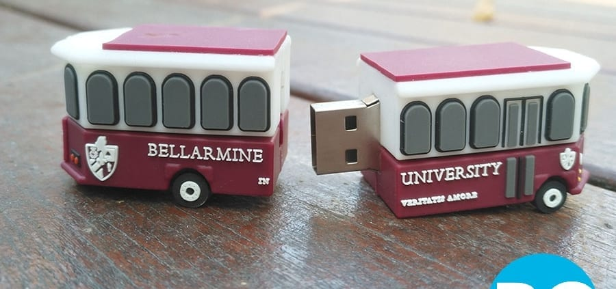 custom train 3D shaped flash drive